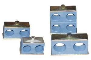 Colliers doubles en polypropylène ou polyamide
