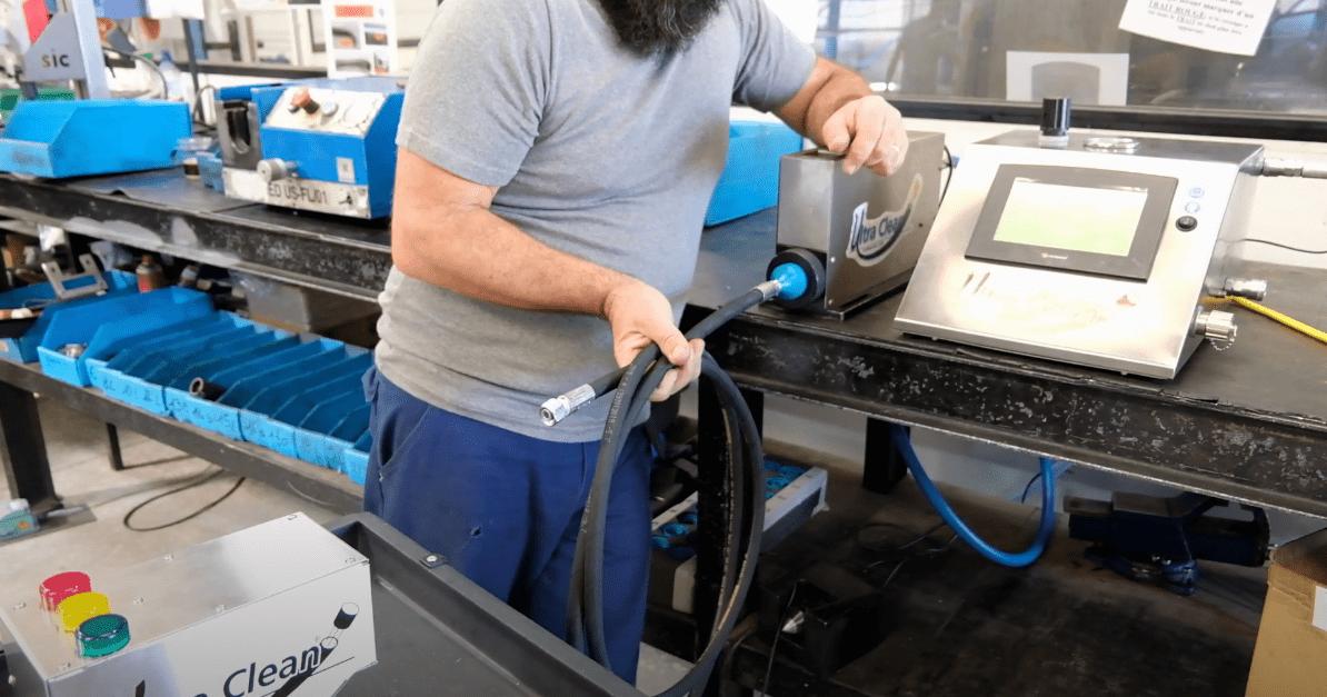 Nettoyage flexible hydraulique